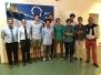 Alumni de la promoción Galeón estuvieron comiendo en el colegio